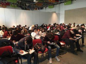 Gözde Ufuklar Anadolu Lisesi öğrencileri YKS sınavı yaklaşırken sınava yönelik çalışmlarını gerçek ortamda deneyimlediler.