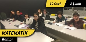 Matematik Kampı - 30 Ocak/ 3 Şubat - Şubat Tatili