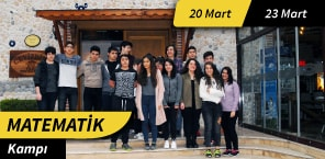 Matematik Kampı 25 Mart - 28 Mart 3 Gün